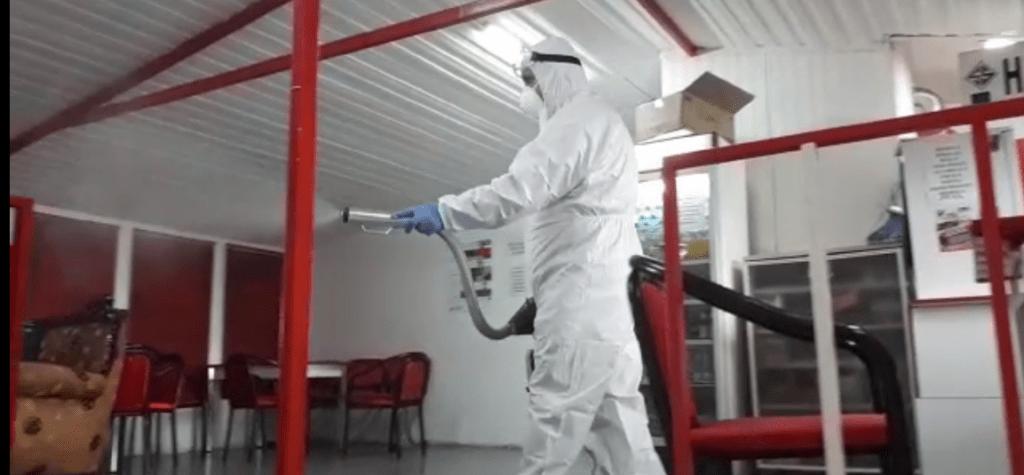 Korona Virüsü Dezenfeksiyon Uygulamaları